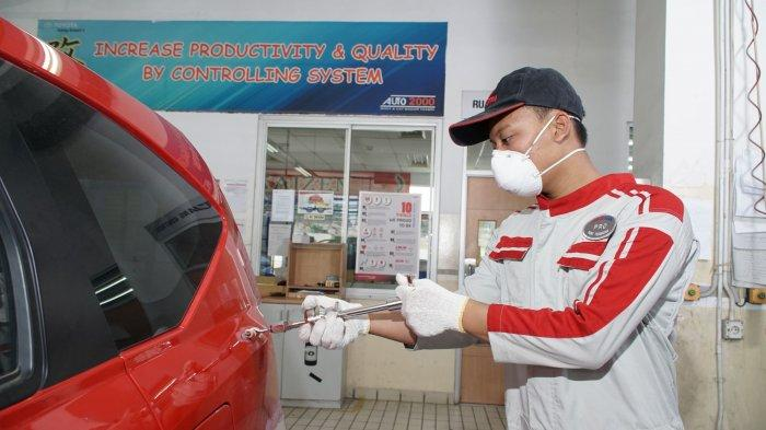 Waspada Karat, Gini Cara Mudah Perbaiki Bodi Mobil Toyota yang Rusak Dimasa PPKM ala Auto2000