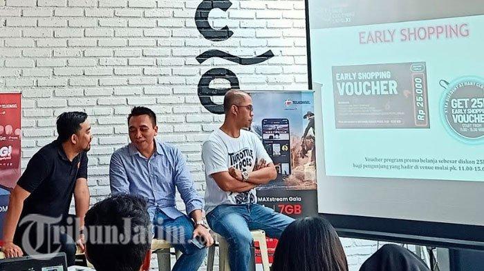 Telkomsel Indie Clothing Expo XI Beri Diskon 25 Ribu Bagi Pengunjung yang Datang Pukul 11.00 WIB