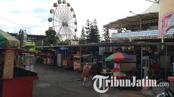 PKL Alun-alun Kota Batu Tanggapi Rencana Pemkot Alihkan Sebagian Pedagang ke Jalan Panglima Sudirman