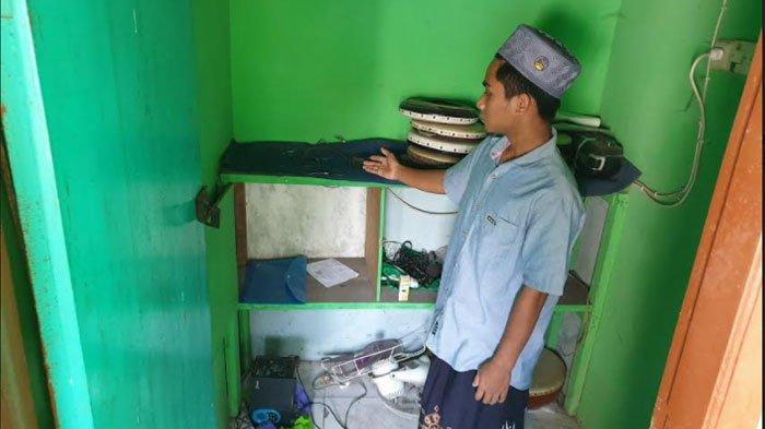 Toa Masjid di Mojokerto Dicuri, Maling Tinggalkan Alat Rusak, Takmir Kecele Saat Hendak Adzan