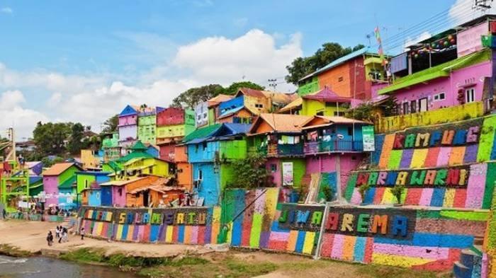 Harga Tiket Masuk Kampung Warna-warni Jodipan dan Malang Night Paradise, Banyak Spot Foto yang Unik