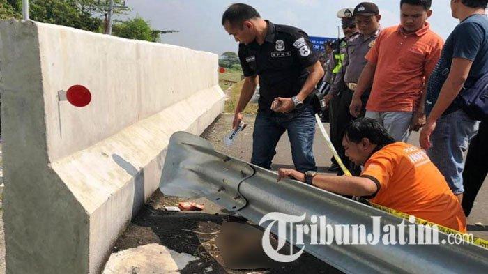 Sedang Bersihkan Rumput, Pekerja Tol Jombang-Mojokerto Temukan Potongan Kaki Manusia di Tepi Jalan