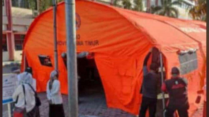 RS dr Soebandi Dirikan Tenda IGD Covid-19 di Pelataran RS, BOR RS di Jember Capai 80 Persen