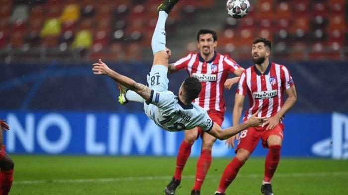 Ciptakan Gol Akrobatik, Olivier Giroud Ukir Rekor Pribadi Bersama Chelsea
