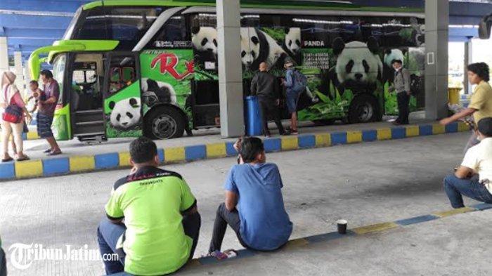 Bus AKDP dan AKAP Boleh Beroperasi Lagi, Terminal Seloaji Ponorogo Kembali Ramai Penumpang