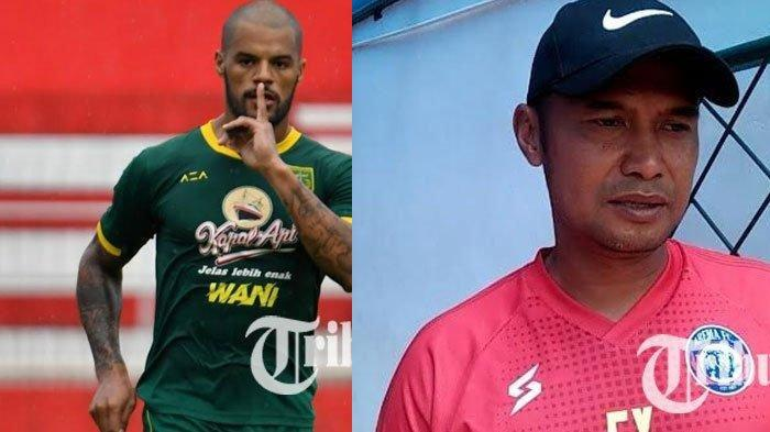 TERPOPULER BOLA: David da Silva Rindu Bonek hingga Asisten Pelatih Arema FC Legowo Gaji 50 Persen
