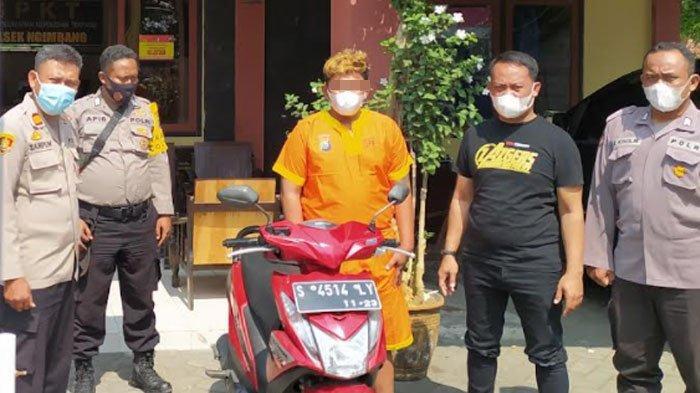 Terlibat Pencurian Motor di Lamongan, Pemuda Asal Kediri Ditangkap Polisi