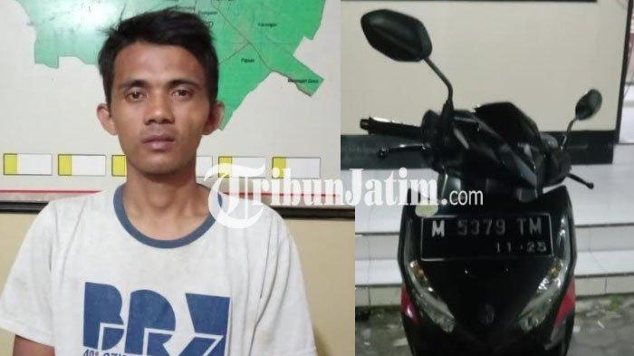 Ketahuan Sembunyikan Motor Curian di RSUD dr H Moh Anwar Sumenep, Pria Ini Ditangkap Polisi