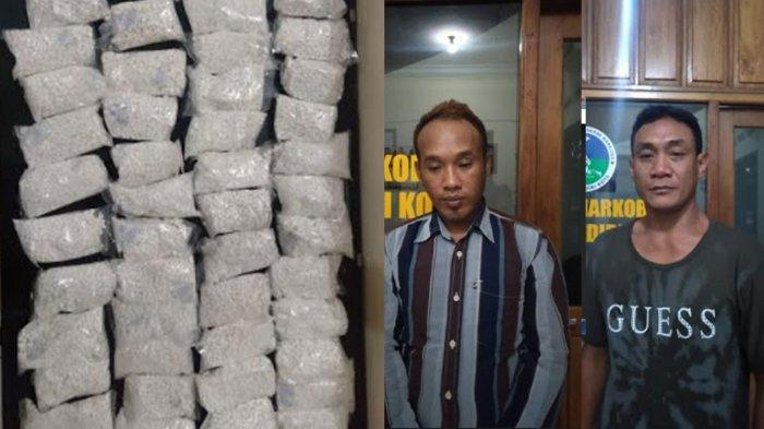 2 Pengedar Pil Dobel L Asal Desa Ngablak Tertangkap, Polres Kediri Kota Amankan 52.760 Butir
