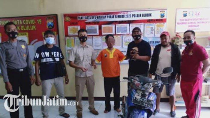 Nyebrang ke Lamongan, Warga Bojonegoro Tertangkap Basah Saat Curi Motor Milik Petani di Sawah