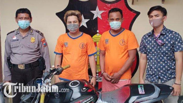 Sembilan Kali Beraksi, Dua Jambret di Surabaya Diringkus Polisi Seusai Jatuh dari Motor