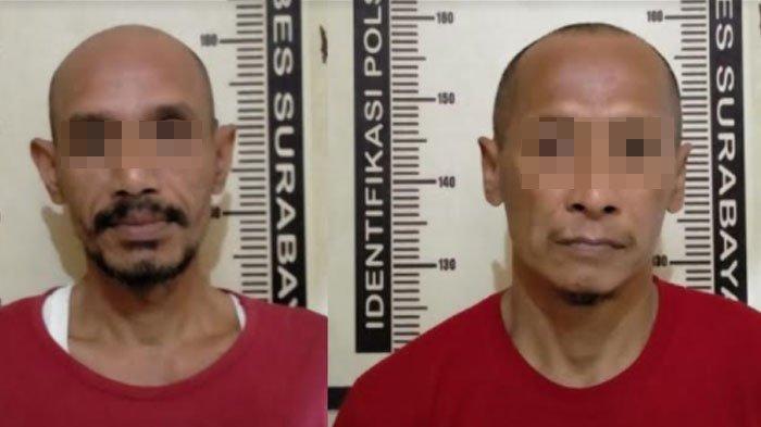 Asyik Nyabu, Dua Sopir Asal Malang Ditangkap Polisi di Pergudangan Margomulyo Surabaya
