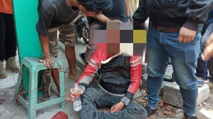 Pencuri Motor Asal Asemrowo Surabaya Babak Belur Dihakimi Warga, Dikejar dan Ditabrak Korbannya