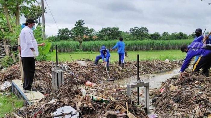 Sungai Tersumbat Sampah Sebabkan Banjir, Wabup Nganjuk: Warga Harus Sadar Risiko Buang Sampah