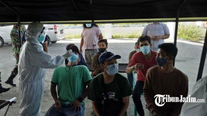 Sopir Rombongan Orang Tua Santri Positif Covid-19, Hasil Tes di Pos Penyekatan Kecamatan Tlanakan
