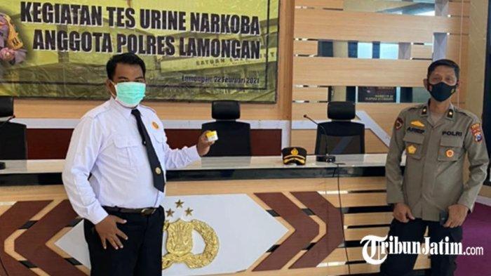 Anggota Polres Lamongan Bakal Dites Urine Berkala, Antisipasi Anggota Polisi Terjerumus Narkoba