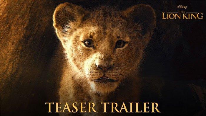 Trailer Teaser Film The Lion King 2019 Belum Genap Sepekan Trending YouTube, Ditonton 45 Juta Kali