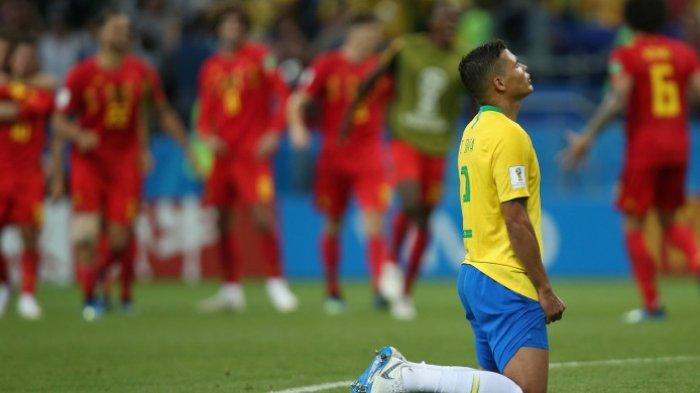 Brazil Punya Rekor Tembakan Terbanyak ke Gawang Belgia, Tapi Malah Susul Argentina dan Jerman