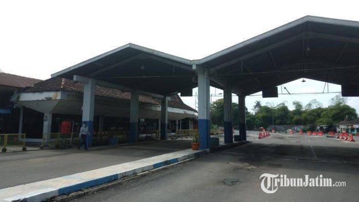 Terminal Tawangalun Jember Kosong di Hari Pertama Larangan Mudik, Begini Penjelasan Petugas