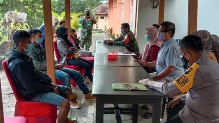 Satgas Penanganan Covid-19 Kabupaten Nganjuk Karantina Tiga Orang PMI yang Pulang dari Malaysia