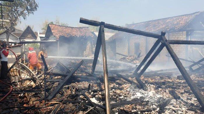 Gara-gara Lupa Matikan Api Kompor saat Masak Air, Tiga Rumah Warga Tuban Ludes Dilahap Si Jago Merah