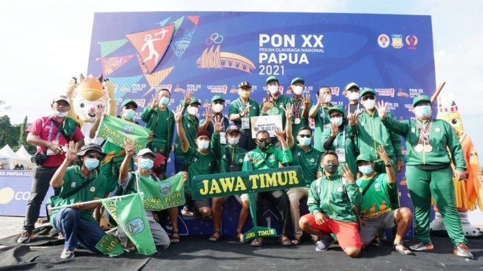 Raih 4 Emas, 3 Perak dan 4 Perunggu, Jatim Juara Umum Cabor Aeromodeling PON XX Papua 2021