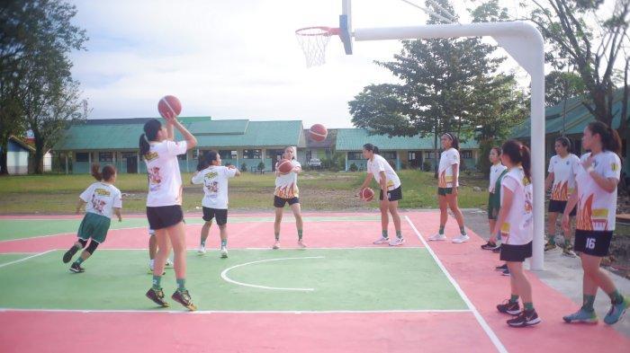 Basket PON XX Papua 2021 - Tim Putri Jatim Optimis Tumbangkan Juara Bertahan
