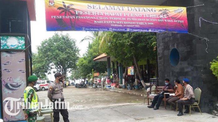 Amankan Penetapan Calon Bupati dan Wakil Bupati Situbondo Terpilih, Polres Kerahkan 200 Personel