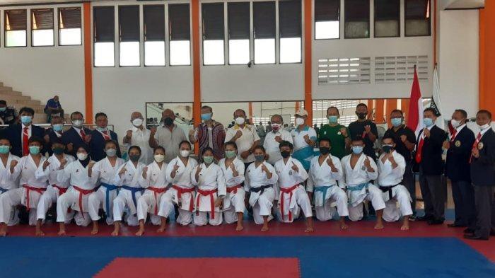 PON XX Papua 2021 - Tim Karate Jatim Targetkan Raih Dua Medali Emas
