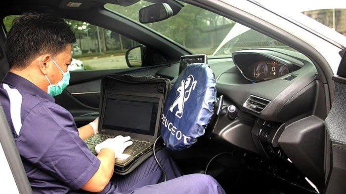 PPKM Darurat, Tim Mekanik Peugeot Siap Home Service, Tetap Prokes dan Sudah Divaksin Covid-19