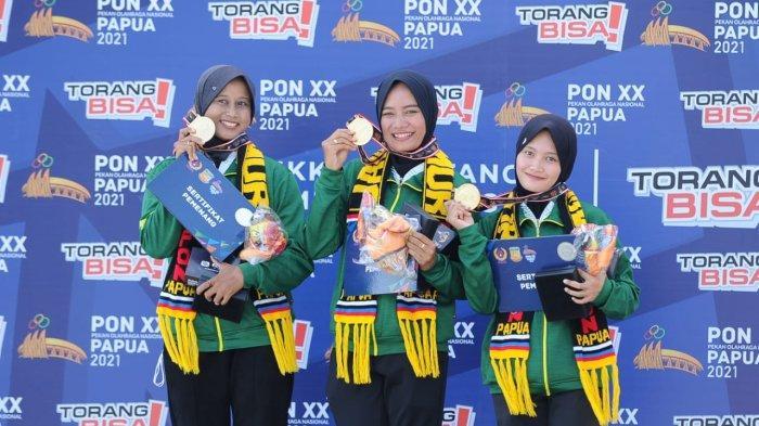 PON XX Papua 2021 - Jatim Tambah Dua Medali Emas dari Panahan