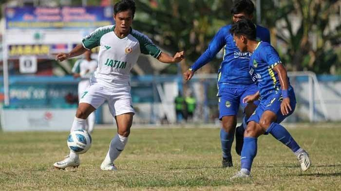 Lolos ke Semifinal PON XX Papua 2021, Tim Sepak Bola Jawa Timur Akan Hadapi Aceh
