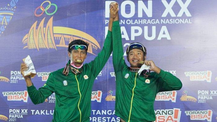 PON XX Papua 2021 - Voli Pantai Putra Jatim I Raih Medali Emas, Tim Putri Sabet Medali Perunggu