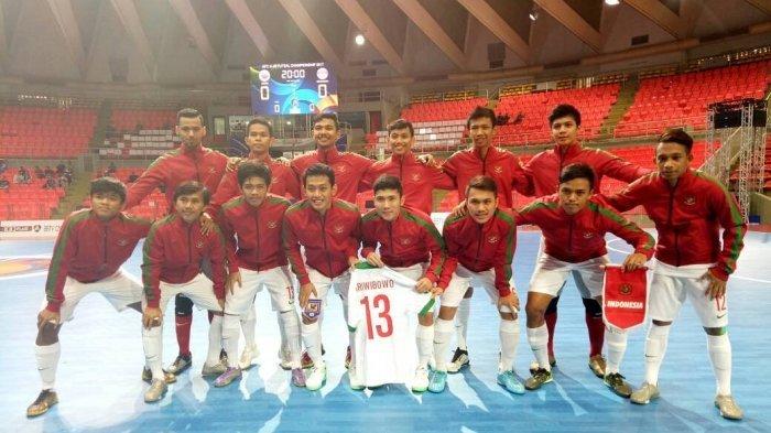 31 Nama Dipanggil Vic Hermans, Berikut Daftar Pemain Timnas Futsal Indonesia