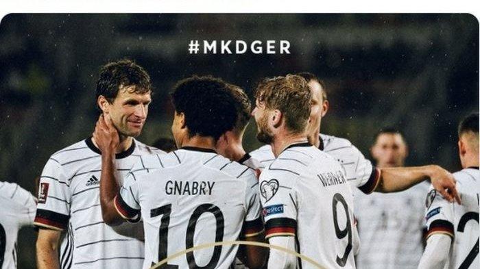 Rekap Hasil Kualifikasi Piala Dunia 2022 - Bekuk Makedonia, Jerman Jadi Tim Pertama Lolos ke Qatar