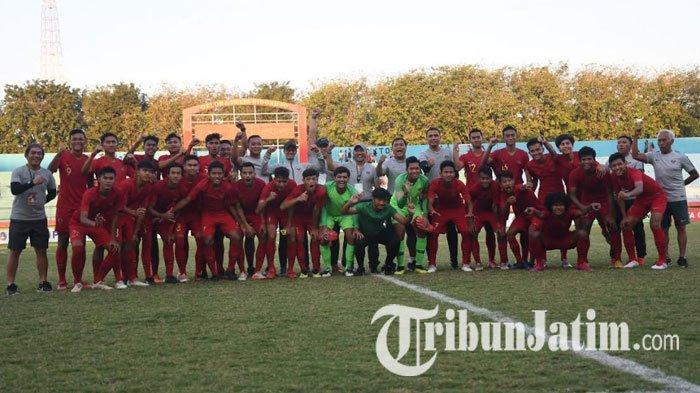 Setelah Lakoni 3 Uji Coba, Pelatih Timnas U-19 Indonesia Tentukan 23 Pemain yang Diboyong ke Vietnam