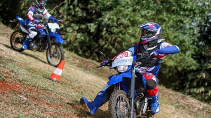 Tips Berbelok yang Benar Saat Riding Off Road Pakai Motor Yamaha WR 155 R Ala Yamaha Jatim
