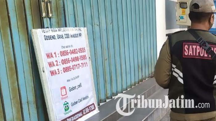PPKM Darurat, Non Esensial Diminta Berjualan Online, Toko di Kediri Pakai WhatsApp untuk Pemesanan