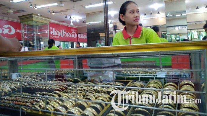 Perhiasan Emas Keroncong Seberat 15 Gram Di Toko Gadjah Kota Mojokerto Digondol Maling Tribun Jatim
