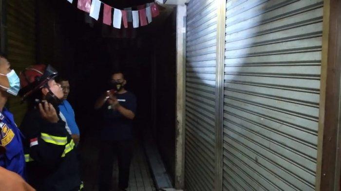 Gegara Puntung Rokok, Toko Emas Arofah 2 di Pasar Besar Kota Malang Nyaris Hangus Terbakar