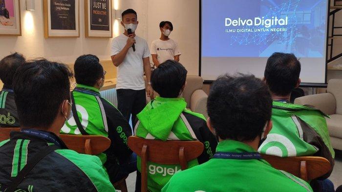 Gotong Royong Bangkit Saat Pandemi, Delva Digital Bikin Workshop Digital Marketing Gratis Bagi Ojol