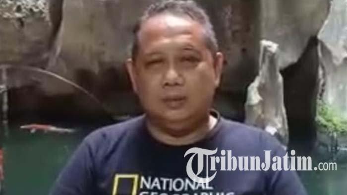 Toni Harsono atau Tok Hok Lay, pegiat dan pelestari wayang potehi, 2021.