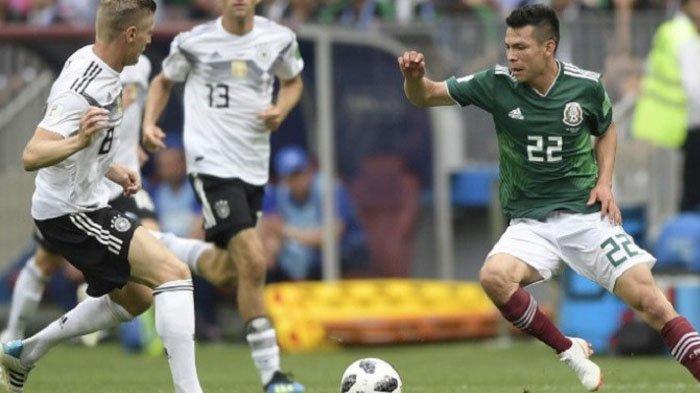Jerman Vs Meksiko, Dibungkam Meksiko, Jerman Buka Pertandingan Piala Dunia dengan Kekalahan