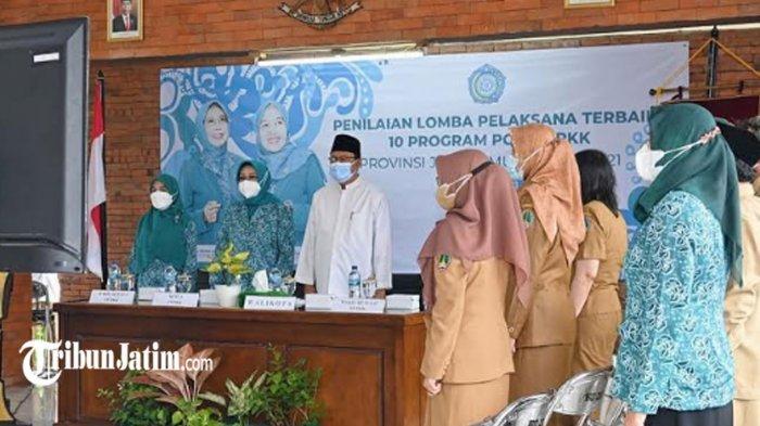 PKK Kota Pasuruan Masuk Nominasi 3 Besar Lomba Pelaksanaan 10 Program PKK Jawa Timur