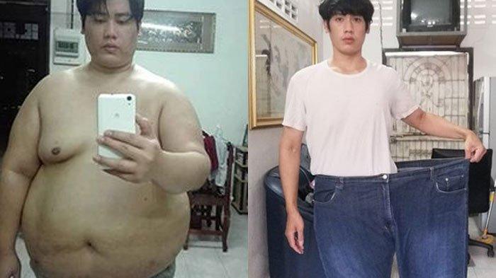 Menu Diet Pria yang Berhasil Turunkan Berat Badan 81 Kg hingga Tak Obesitas, Intip Transformasinya