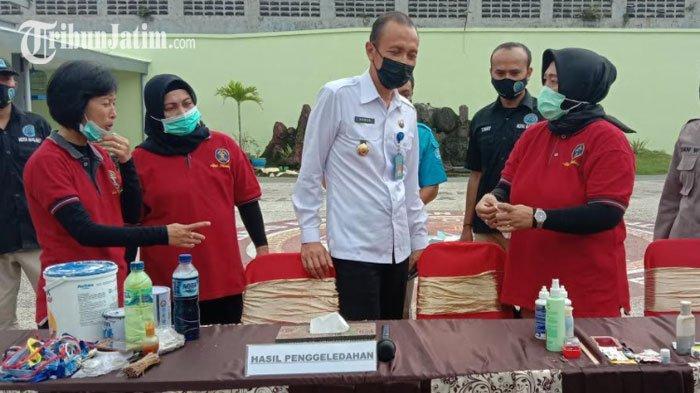 Lapas Perempuan Malang Bersama BNN Kota Malang dan Polresta Malang Lakukan Penggeledahan Blok Hunian