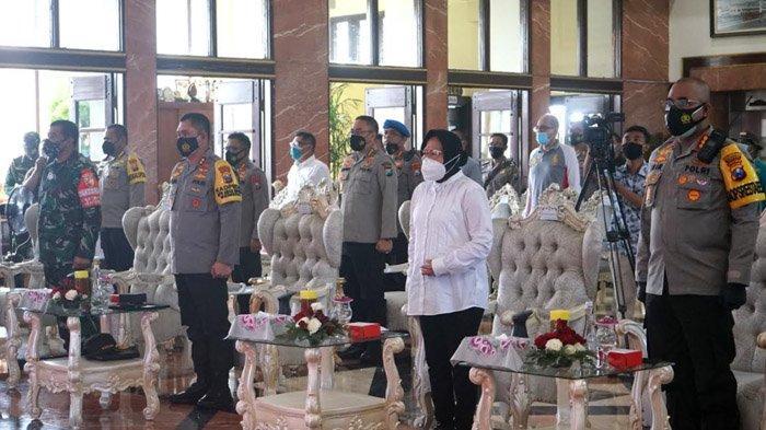 1000 Perwakilan Masyarakat Deklarasi Jogo Suroboyo Damai, Wali Kota Risma: Mari Bergandengan Tangan