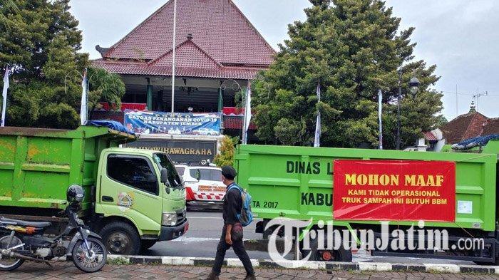 Uang BBM Truk Sampah di Kabupaten Jember Kembali Kritis