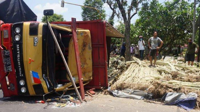 Polisi Ungkap Identitas Pria yang Tewas Tertimpa Truk Bermuatan Tebu di Tulungagung