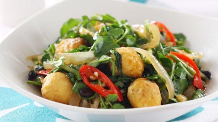 Resep dan Cara Membuat Tumis Selada Air, Pelengkap Menu Makan Siang yang Sederhana dan Nikmat